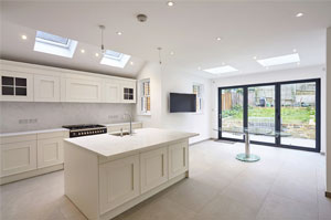 Home extension in North London