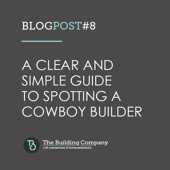 A clear and simple guide to spotting a cowboy builder