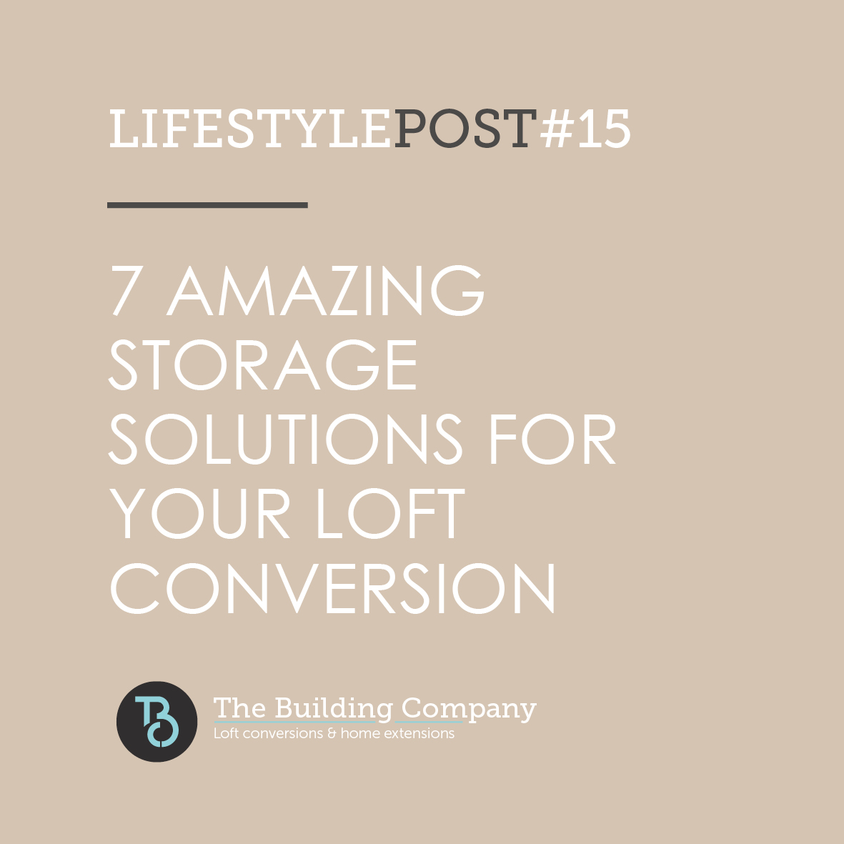 7 amazing storage solutions in your loft conversion