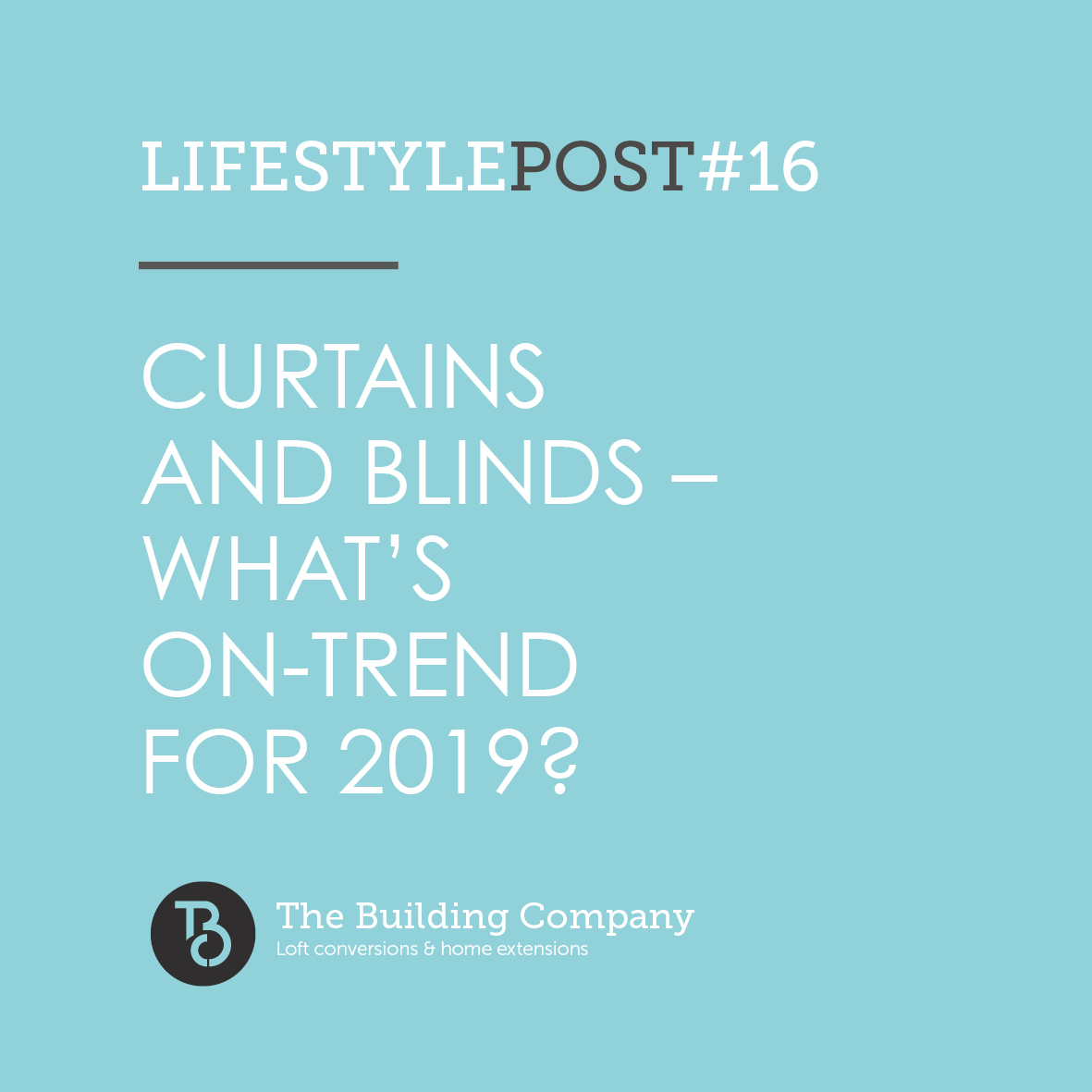 Curtains and blinds – what's on-trend for 2019?