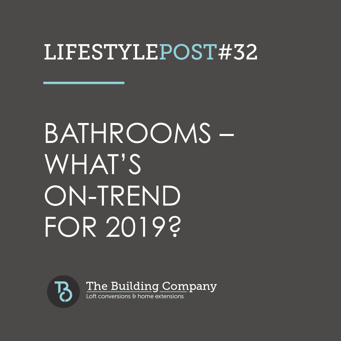 Bathrooms – what's on-trend for 2019 in East Finchley and Enfield?