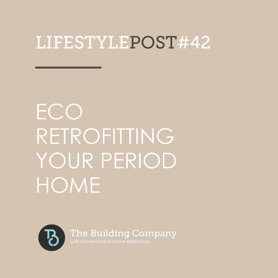 Eco retrofitting your period home in North London